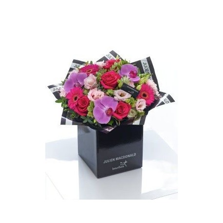 Julien Macdonald Exotic Orchid, Germini and Rose Hand-tied