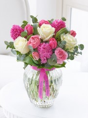 Happy Birthday Scented Springtime Vase