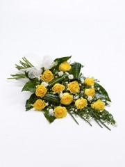Classic Rose Sheaf - Yellow